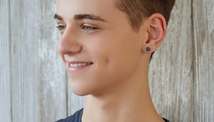 Mens Ear Piercing - Fathers and Sons