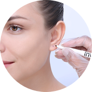 Ear Piercing - Step 2 Mark