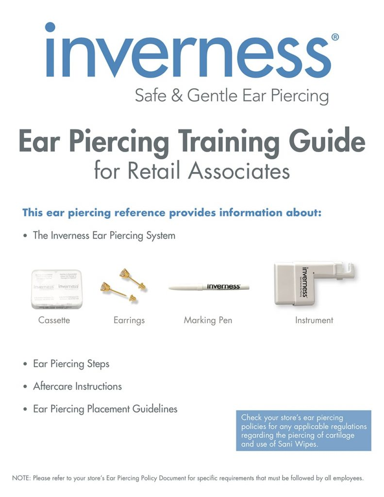 Training Materials Inverness Corp